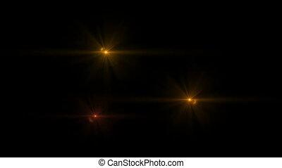 light stars sky