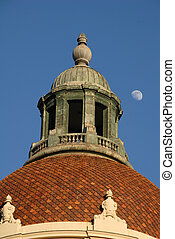 Pasadena City Hall Dome - historic Pasadena City Hall dome...