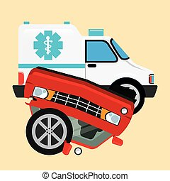 car insurance design, vector illustration eps10 graphic