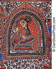 Sita Swayamvar, Madhubani paintings, India