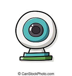 webcam doodle