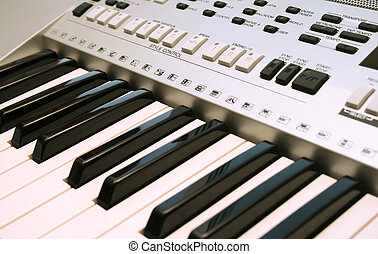 Keyboards - Part of professional keyboards.