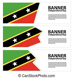 st kitts and nevis Flag banners collection independence day...