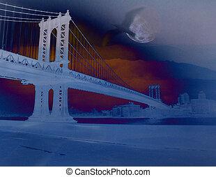 Bridge and bird