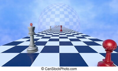International relationships (chess - This metaphor...