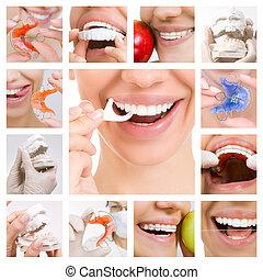 Dental Care collage (Dental Services)