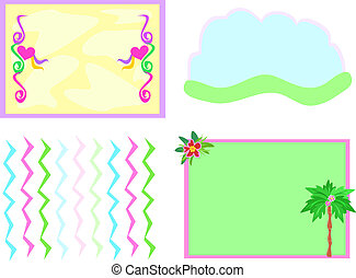 Mix of Four Backgrounds