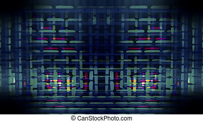 Futuristic Screen Display Pixels 10473 - Futuristic, video...