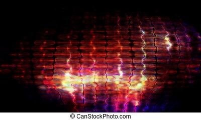 Futuristic Screen Display Pixels 10477 - Futuristic, video...