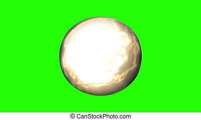 Time Lapse Crystal Ball - Time lapse magic crystal ball,...