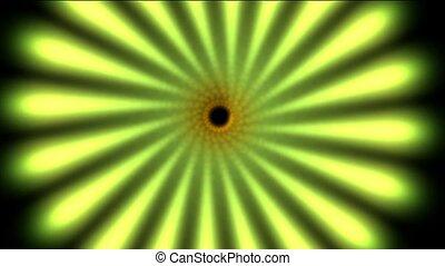 Green swirl pattern