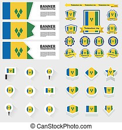 st vincent and the grenadines independence day, infographic,...