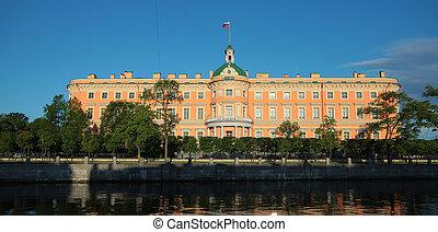 Engineer castle . Saint-Petersburg, Russia - Engineer,...