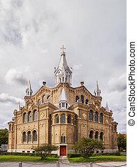 Sankt Pauli Kyrka in Malmo, Sweden, aka Saint Pauli Church...