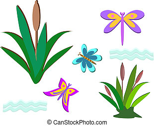 Mix of Pond Life - Here is a mix of Pond life including...
