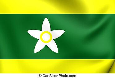 bandeira, de, Ehime, Prefecture, Japan., ,