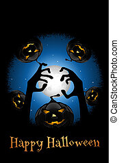Halloween Zombie Party Poster - Halloween Zombie Party...