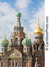 Orthodox Church of the Savior on blood. Saint-Petersburg, Russia