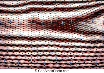 Tile Roof - Background of the Tile Roof
