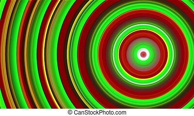 green and red abstract background