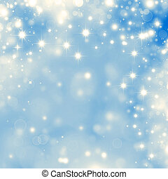 blue starry  background - starry Christmas background