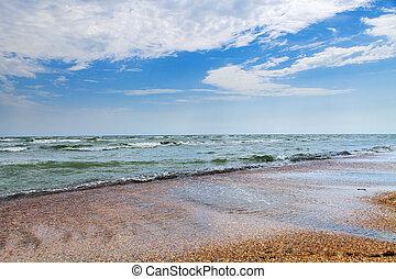 sea - Blue sky, sun and sea