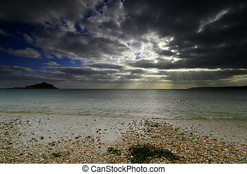 St Michaels Mount West Cornwall UK - The evening light...