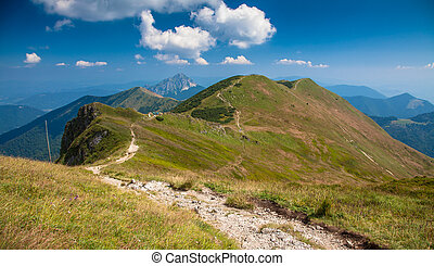 Range Mala Fatra in Slovakia