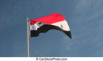 Request flag of Iraq