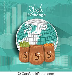 Stock Exchange design - Stock Exchange digital design,...