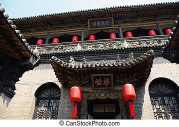 Chinese building - it is China architecture and taken in...