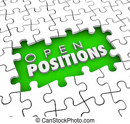 Open Positions Need to Fill Vacant Job Postings Find Good Applicants Employees