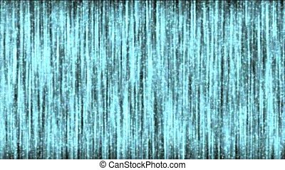 color noise and blue vertical line flash
