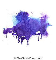 Hand drawn Watercolor background - Watercolor background....