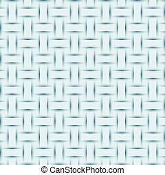 abstract blue weave texture, embossed shadow background vector