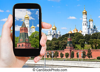 picture of Ivan The Great bell tower in Kremlin