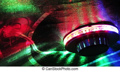 Audio control panel light - DJ controlled audio remote...
