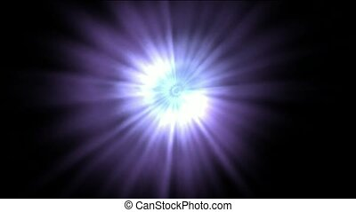 abstract purple and white rays