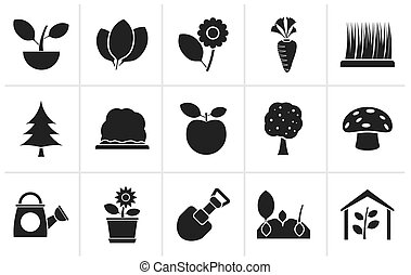 Plants and gardening Icons