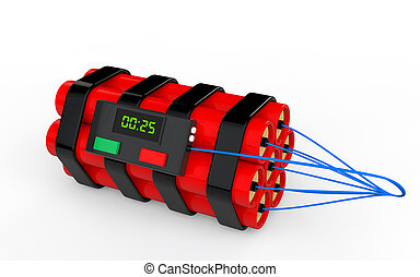 3d dynamite time bomb