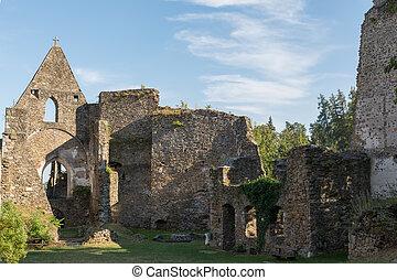 Castle Schaumberg - Middle Ages - Castle ruin Schaunberg...