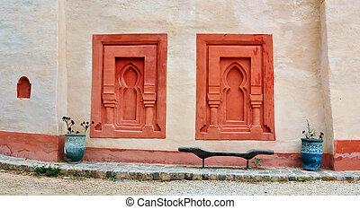 agadir medina wall - agadir city morocco medina landmark...