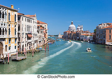 Venice Italy. Grand canal