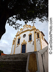 Antique church in Fernando de Noronha,Brazil