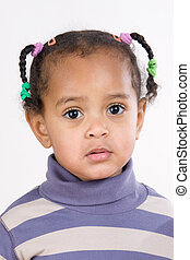 Adorable african baby - Portrait of adorable african baby...