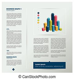 Brochure, flyer, newsletter, annual report layout template....