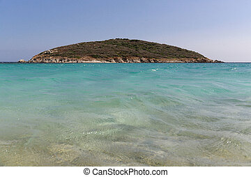 Spiaggia di Tuerredda - View of the wonderful beach of...