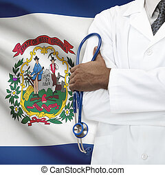 Concept of national healthcare system - West Virginia