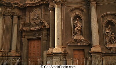 Santa Anna Church at Palermo - View of SantAnna church in...