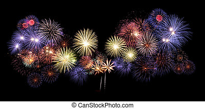 Awesome Fireworks Background